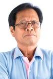 Uomo anziano asiatico Immagini Stock