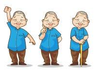 Uomo anziano benigno Immagine Stock