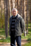 Uomo anziano del ritratto Immagine Stock Libera da Diritti