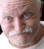 Uomo anziano divertente Fotografie Stock Libere da Diritti