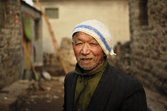 Uomo anziano felice Fotografie Stock Libere da Diritti