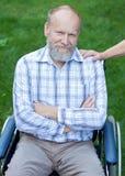 Uomo anziano felice Immagini Stock Libere da Diritti