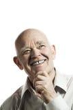 Uomo anziano felice Fotografia Stock Libera da Diritti