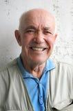Uomo anziano felice Fotografie Stock