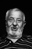 Uomo anziano felice Immagini Stock