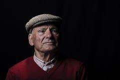 Uomo anziano saggio immagine stock