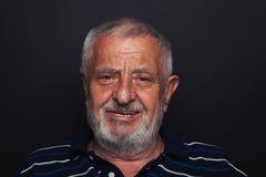 Uomo anziano sorridente 2 Fotografie Stock