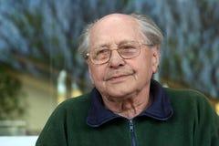 Uomo anziano triste Fotografia Stock Libera da Diritti