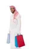Uomo arabo Fotografia Stock Libera da Diritti