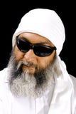 Uomo arabo freddo Immagine Stock Libera da Diritti
