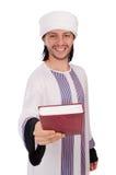 Uomo arabo isolato Fotografia Stock Libera da Diritti