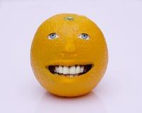Uomo arancione Fotografia Stock Libera da Diritti