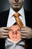 Uomo arrabbiato Immagini Stock