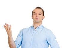 Uomo arrogante Fotografia Stock Libera da Diritti