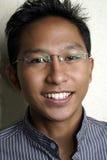 Uomo asiatico amichevole Fotografie Stock Libere da Diritti