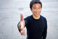 uomo asiatico del interestng Immagine Stock Libera da Diritti