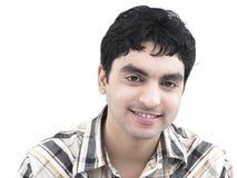 Uomo asiatico dell'origine indiana Fotografia Stock Libera da Diritti