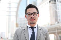 Uomo asiatico di affari immagine stock libera da diritti
