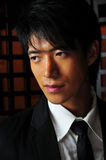 Uomo asiatico nel vestito di Buiness Immagine Stock Libera da Diritti