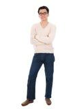 Uomo asiatico nell'abbigliamento casual Fotografia Stock
