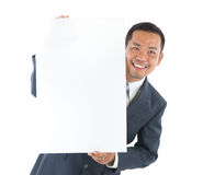 Uomo asiatico sorridente fotografia stock