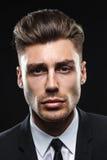 Uomo attraente in studio Fotografia Stock Libera da Diritti