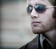 Uomo barbuto Fotografia Stock