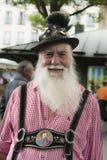 Uomo bavarese Fotografie Stock