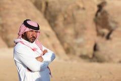 Uomo beduino Immagine Stock Libera da Diritti