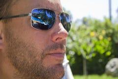 Uomo bello Fotografia Stock
