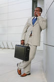 Uomo bello di affari Immagini Stock