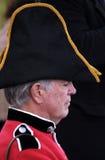 Uomo britannico coloniale Immagini Stock