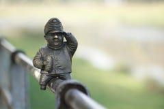 Uomo bronzeo Immagini Stock Libere da Diritti