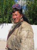 Uomo buddista tradizionale al festival di Ladakh Immagini Stock Libere da Diritti