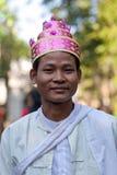 Uomo Burmese immagini stock libere da diritti