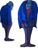 Uomo calvo illustrazione vettoriale