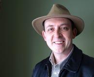 Uomo in cappello Fotografie Stock