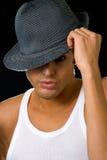 Uomo in cappello Immagine Stock Libera da Diritti