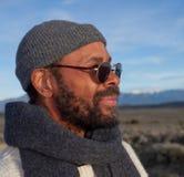 Uomo casuale dell'afroamericano Immagini Stock Libere da Diritti