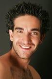 Uomo caucasico bello Fotografia Stock