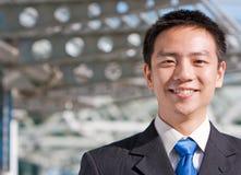 Uomo cinese asiatico di affari Fotografia Stock