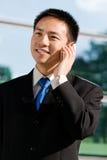 Uomo cinese asiatico di affari Immagine Stock