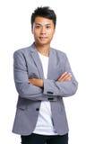Uomo cinese di affari Fotografia Stock
