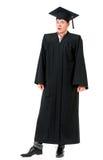 Uomo colpito di graduazione Fotografia Stock Libera da Diritti