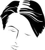 Uomo con capelli Fotografia Stock Libera da Diritti