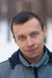 Uomo con gli occhi azzurri Immagini Stock