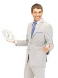 Uomo con l'orologio Immagine Stock Libera da Diritti