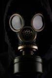 Uomo con la maschera antigas Immagine Stock Libera da Diritti