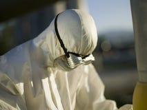 Uomo con la mascherina fotografie stock libere da diritti