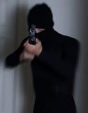 Uomo con un fucile Immagine Stock Libera da Diritti